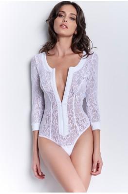 Bodysuit in lace