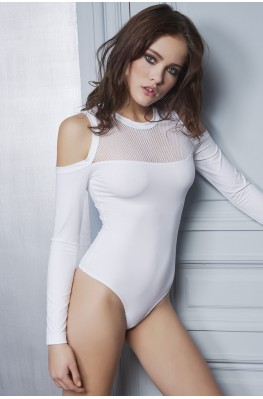Body String en jersey résille