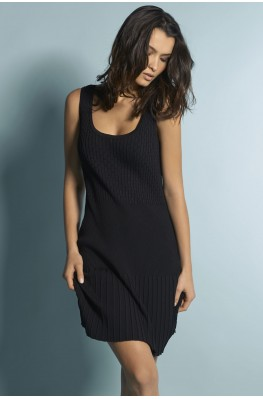 Knit tank top dress